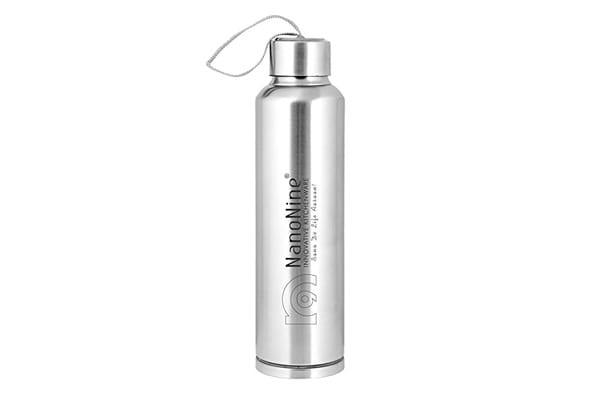 NanoNine Stainless Steel Water Bottle