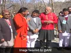 On Day-2 Of Nepal Visit, PM Modi Offers Prayers At Iconic Muktinath Temple