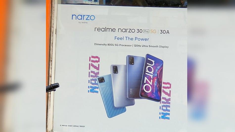 Realme Narzo 30 Pro 5G, Narzo 30A सीरीज़ में पहले हो सकते हैं लॉन्च, प्रोसेसर का मिला इशारा
