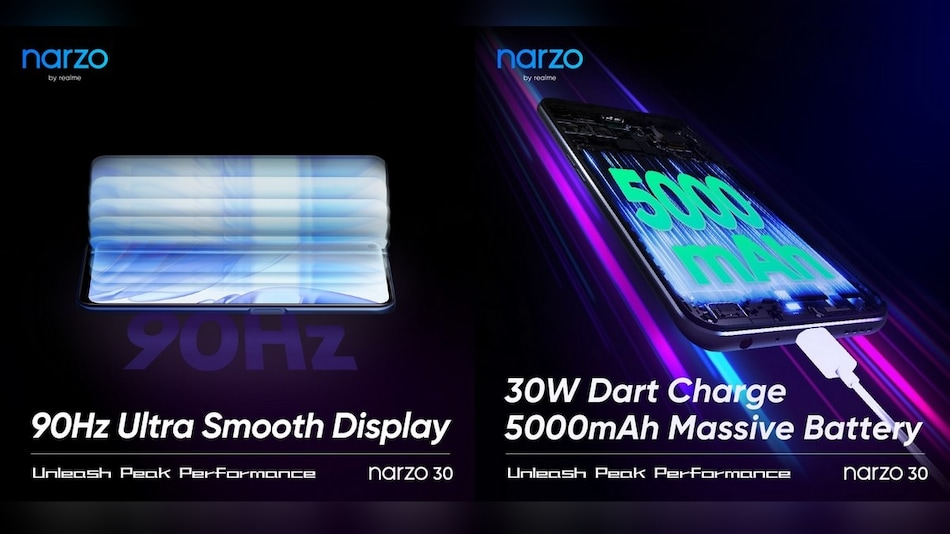 Realme Narzo 30 Specifications Teased; Will Feature 90Hz Refresh Rate, 5,000mAh Battery, 30W Fast Charging