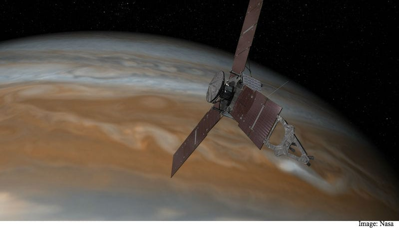 NASA Extends Juno's Jupiter Mission Until July 2021