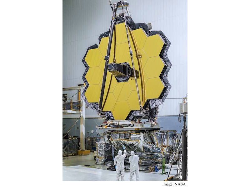 NASA Completes Construction of James Webb Space Telescope