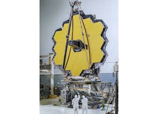 NASA Completes Construction of James Webb Space Telescope