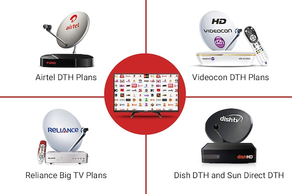 New DTH Plans As per New TRAI Rules: Airtel, Videocon, Dish TV, Sun Direct and Reliance Big TV