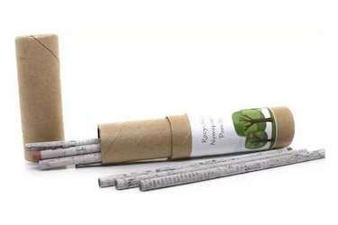 Eco Friendly Newspaper Pencils