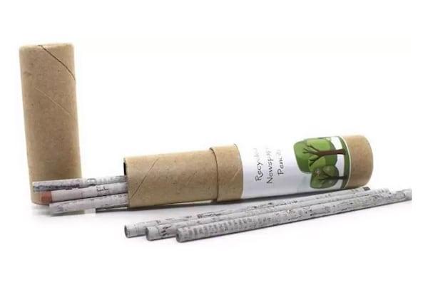 Eco Friendly Newspaper Pencils