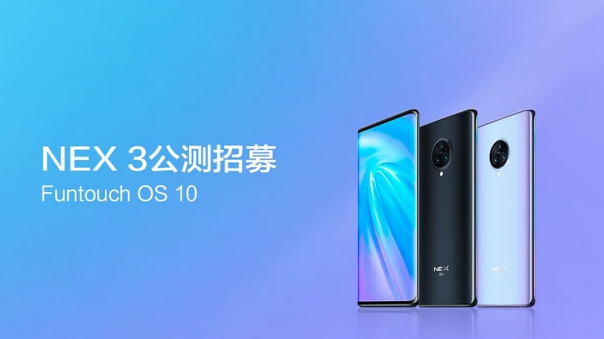 Vivo Has Announced Its Android 10 Beta Update Roadmap Which Starts With Vivo Nex 3 on March 14