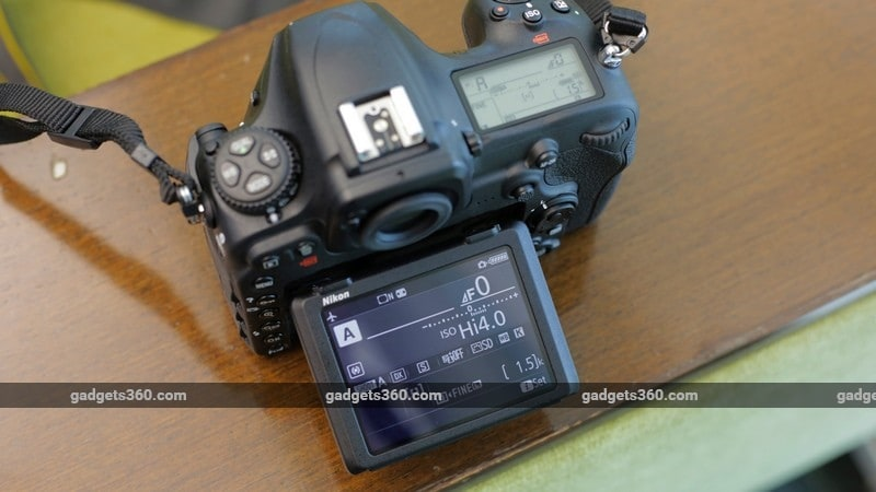 Nikon D500 display ndtv Nikon D500