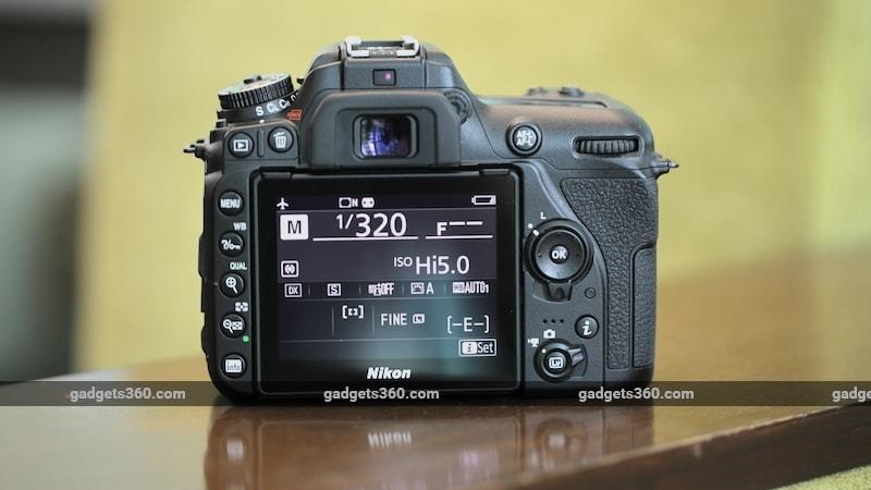 Nikon D7500 bck Nikon D7500