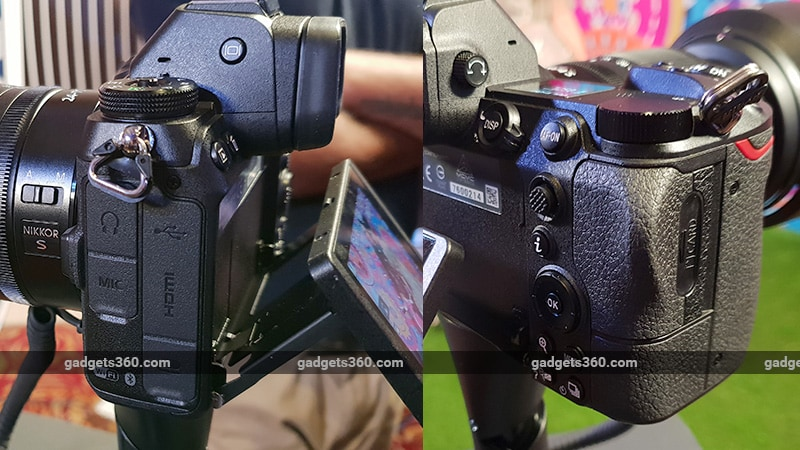Nikon Z7 Z6 sides ndtv Nikon