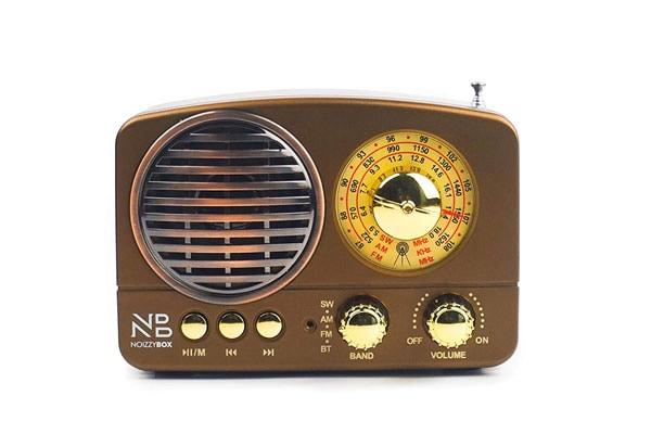 Noizzy Box Retro XS Vintage Classic Portable Bluetooth Speaker 1611682498418