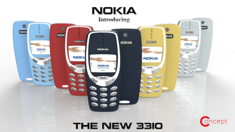 Nokia 3310 Concept Video Shows What a Modern Avatar of the Iconic Nokia Phone Could Look Like
