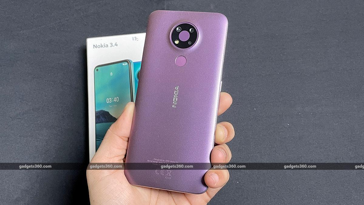Nokia 3 4 back gadgets360 Nokia 3.4 First Impressions