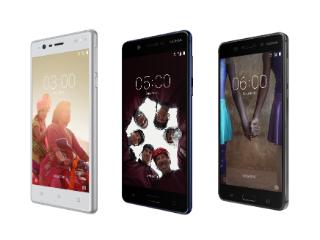 Nokia 6, Nokia 5 और Nokia 3 लॉन्च हुए भारत में, जानें इनकी कीमतें