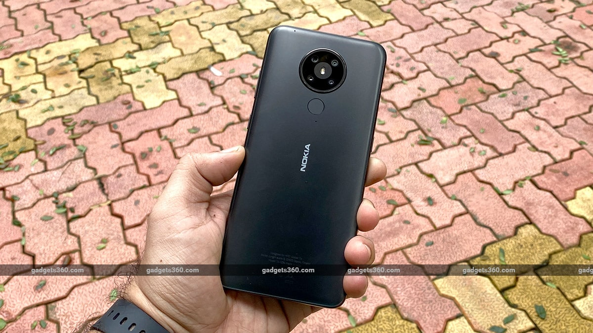 Nokia 53 back gadgets360 Nokia 5.3 Review
