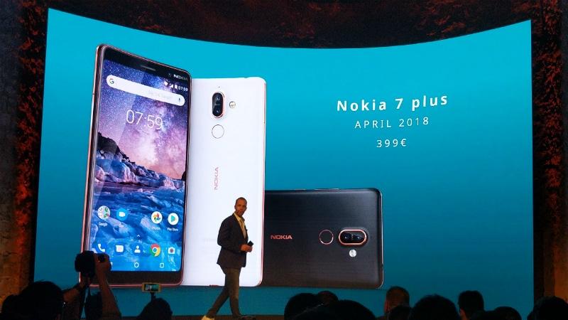 नोकिया 7 प्लस स्मार्टफोन एमडब्ल्यूसी 2018 में लॉन्च, जानिए स्पेसिफिकेशन