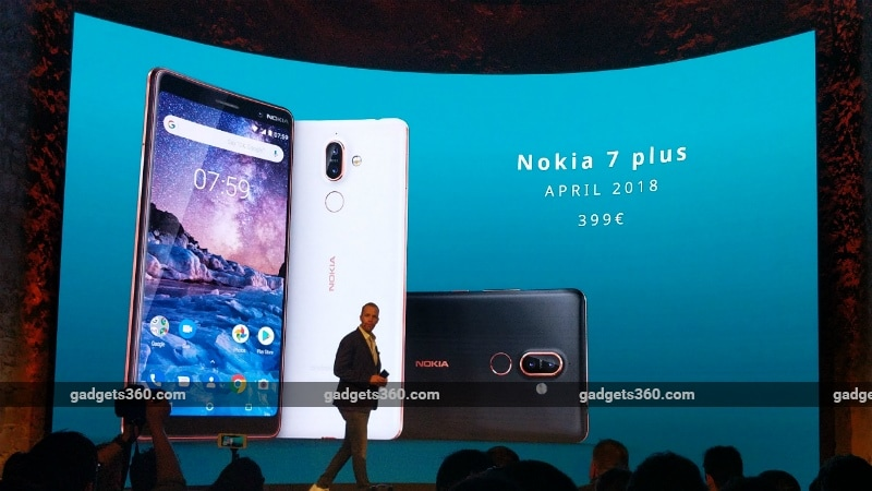 Nokia 7 Plus Is an Android One Smartphone With 6-Inch Display, and Dual Rear Zeiss Cameras