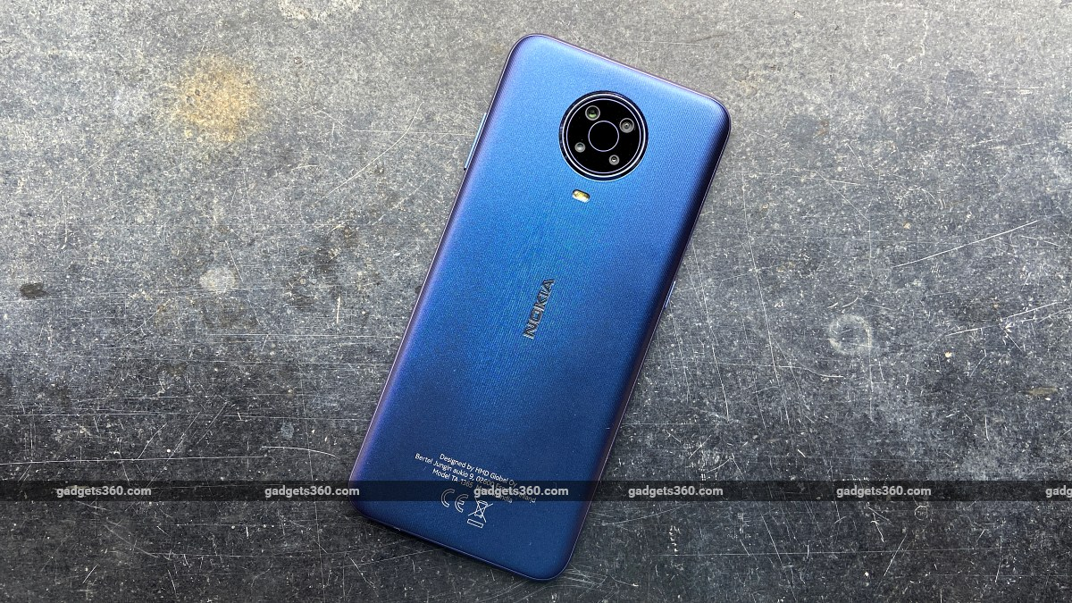 Nokia G20 back design ndtv NokiaG20  Nokia
