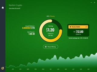Norton Crypto Lets You Mine Ether Within Norton 360 Antivirus Programme, Brings Cloud-Based Wallet System