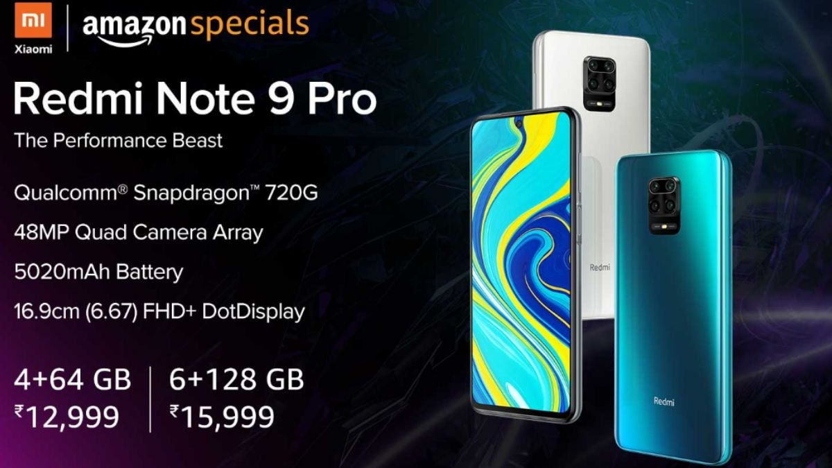 Redmi Note 9 Pro To Go On Sale In India Today Via Amazon Mi Com