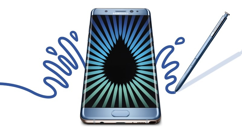 Samsung Galaxy Note 7 Officially Recalled in US; Replacements Due September 21