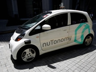 Driverless Car Collides With Truck in Singapore, No Injuries