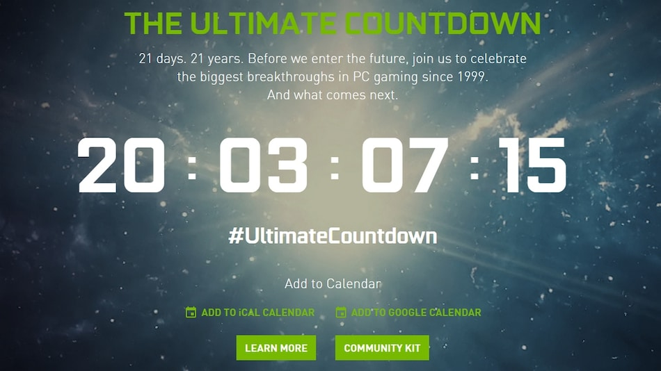 Nvidia Hosting an Event on September 1, May Announce GeForce RTX 3000 Series GPUs