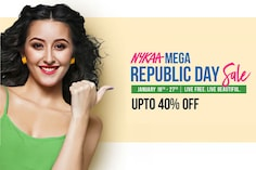 Nykaa's Mega Republic Day Sale 2021: Up To 40% Off on Beauty, Cosmetics and Skincare Products