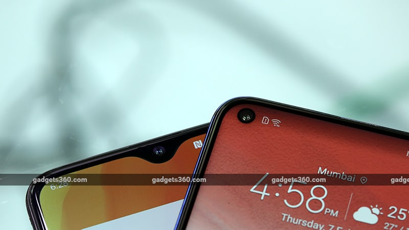 OP6TvsHonorV20 Notches OnePlus 6T vs Honor View 20