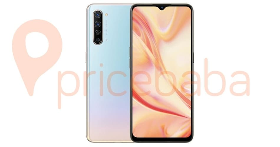 Oppo Find X2 Lite Render Leaked, Quad Rear Cameras Tipped