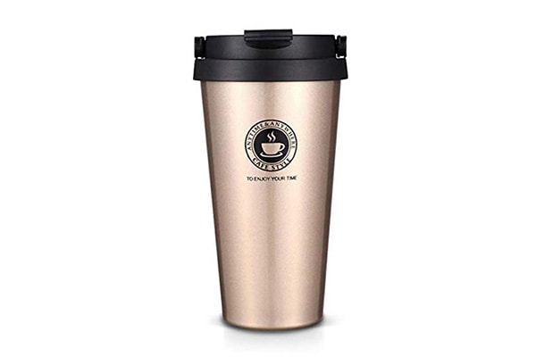 ORPIO LABEL Stainless Steel Vacuum Insulated Travel Tea and Coffee Mug 1610946877377