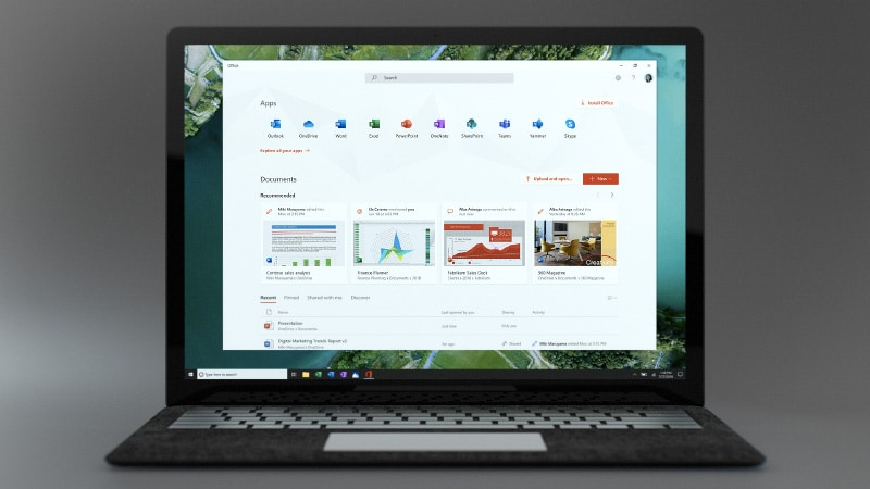 Microsoft Office App Unveiled for Windows 10, Brings Features of Office.com