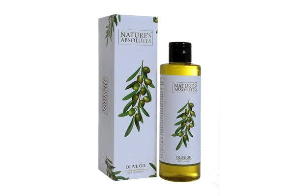 Best Olive Oils for Hair - Nature's Absolutes Olive Oil, 200ml