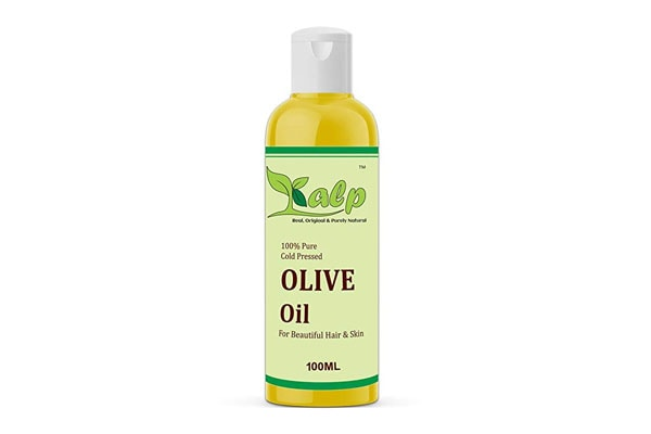 Best Olive Oils for Hair - Kalp Cold Pressed, Extra Virgin Olive Oil for Skin, Hair and Massage (100 ml)