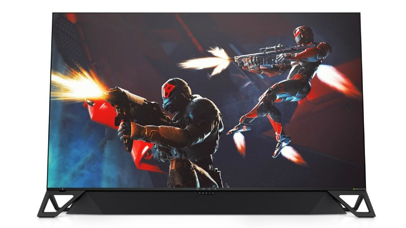 HP Omen X Emperium 65-Inch Monitor With Nvidia G-Sync HDR Launched at CES 2019