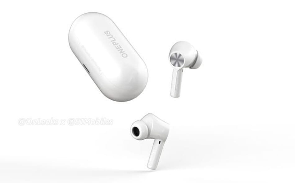 OnePlus Buds Z2 TWS Earbuds Tipped to Launch in October, Renders Leak Design Details