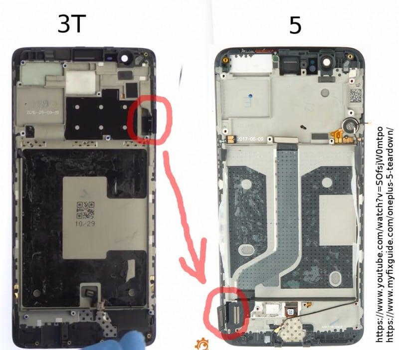OnePlus3T OnePlus5 Teardown NDTV OnePlus 3T OnePlus 5 Teardown