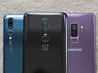 OnePlus 6 vs Huawei P20 Pro vs Samsung Galaxy S9+: Camera Comparison