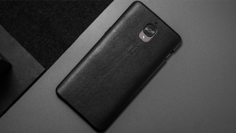 buy popular 8ff7e 30852 OnePlus 3T, OnePlus 3 Get an Official Textured Leather Case ...