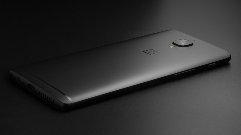 OnePlus 3T Midnight Black Rear OnePlus 3T Midnight Black