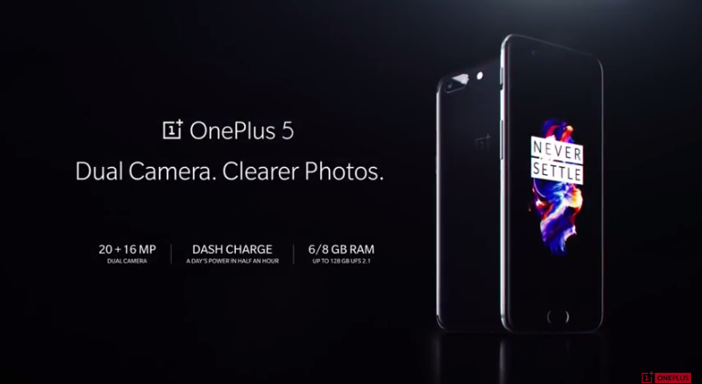 OnePlus 5 With 8GB RAM, Dual Rear Cameras Unveiled: Event Highlights
