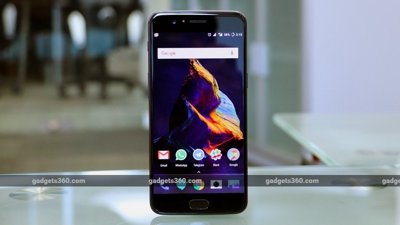 OnePlus 5 front ndtv oneplus 5