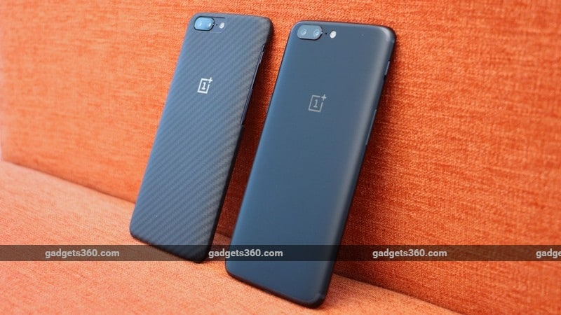 OnePlus 5 side by side ndtv oneplus 5