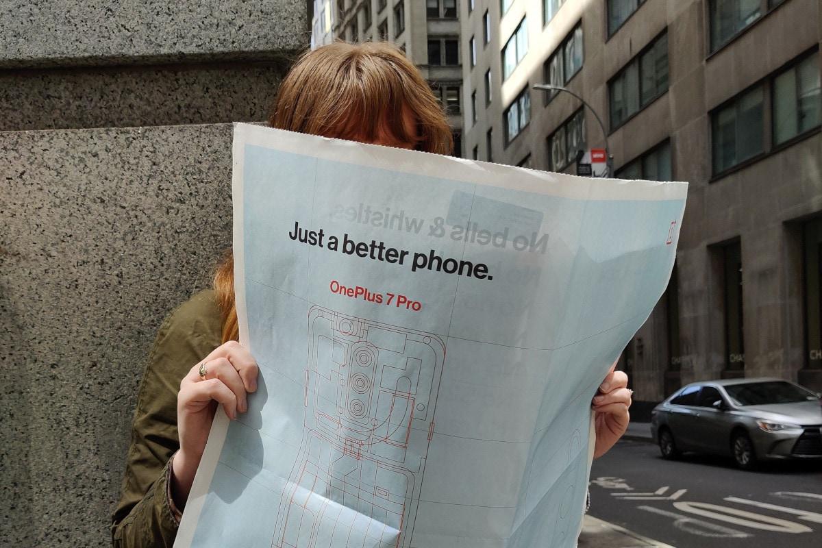 OnePlus 7 Pro newspaper ad OnePlus america twitter OnePlus 7 Pro Ad
