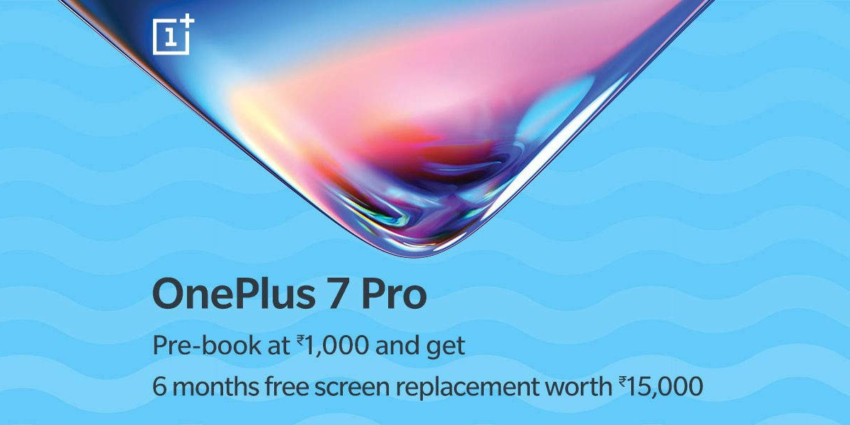 OnePlus 7 Pro Pre-Bookings Open at Rs. 1,000 via Amazon India, 6-Month Free Screen Replacement Offer Bundled