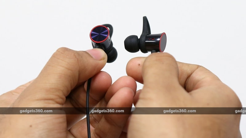 OnePlus Bullets Wireless close up ndtv OnePlus