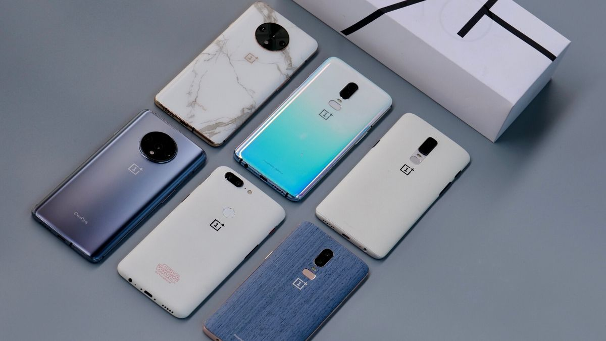 OnePlus 7T With Marble Finish, OnePlus 6 in Denim Blue Designs Showcased by Company