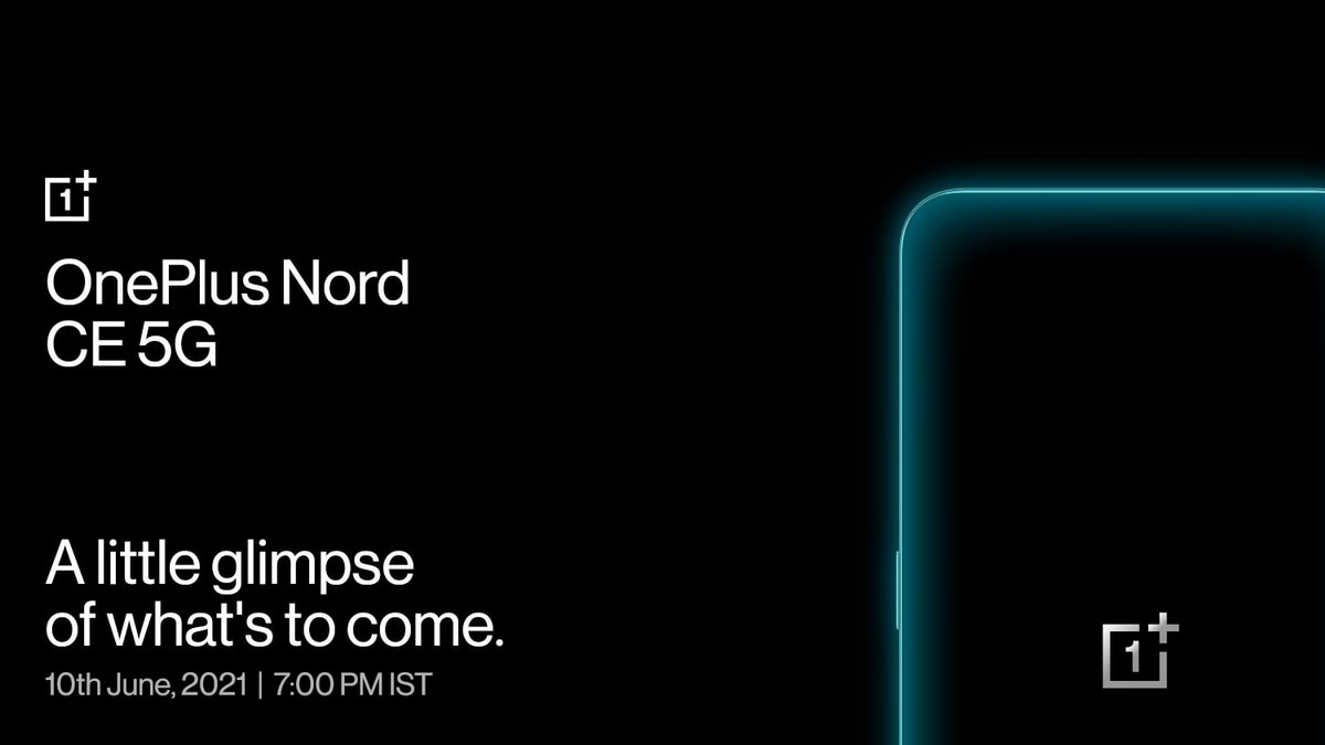 OnePlus Nord CE 5G Camera Details Teased, 64-Megapixel Primary Sensor Confirmed Ahead of June 10 Launch