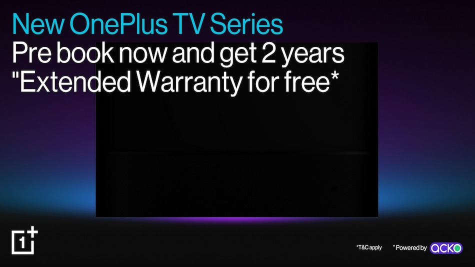 OnePlus TV 2020 Models Are Now Listed for Pre-Booking on Amazon With Extended Warranty Offer