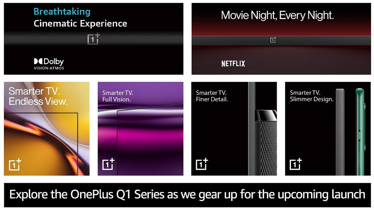 OnePlus Upcoming TV Series Will Have Three Models, Prices Teased